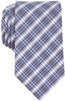 Nautica Silk Blend Navy Plaid Tie