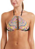 Trina Turk Nepal Halter Bikini Top