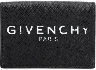 Givenchy Logo leather wallet