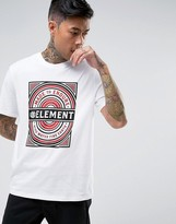 Element Note Logo T-shirt In White