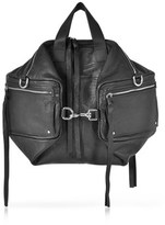 McQ Women's Black Leather Shoulder Bag.