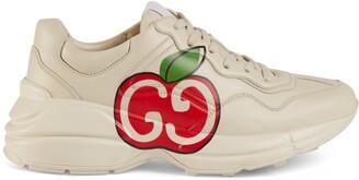 Gucci Women's Rhyton GG apple sneaker