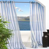 Commonwealth Home Fashions Escape Stripe Grommet Window Curtain Panel