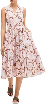 Kate Spade Bloom Burnout Midi Dress