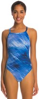 Speedo Endurance+ Ice Flow Drill Back One Piece Swimsuit 8146373