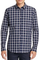 Theory Zack Plaid Slim Fit Button-Down Shirt
