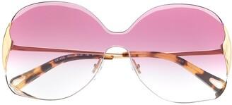 Chloé Curtis square-frame sunglasses