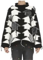 Stella McCartney Arrows Detail Maxi Sweater