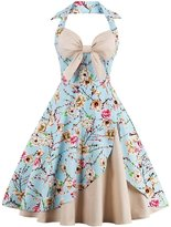 Babyonlinedress® Women Holderneck Sweetheart Swing Vintage Party Bridemais Guest Dresses