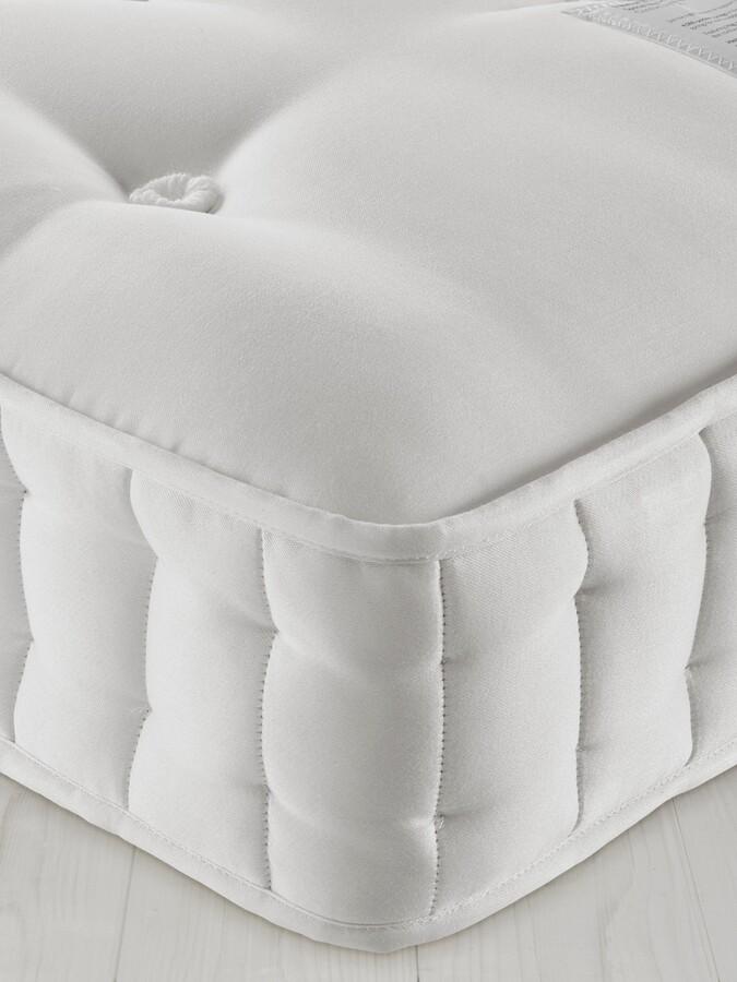 John Lewis & Partners Natural Collection Fleece Wool 8400, King Size, Medium Tension Pocket Spring Mattress