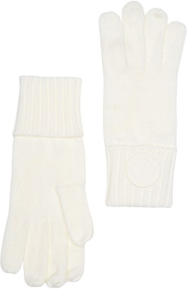 Michael Kors Rib Rubber Patch Gloves