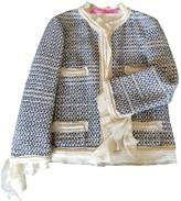 Ungaro Blue Cotton Jacket for Women