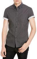 Kenneth Cole New York Slim Fit Short Sleeve Sportshirt