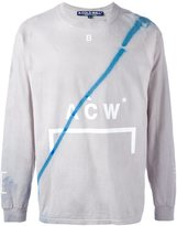 A-Cold-Wall* stain effect sweatshirt
