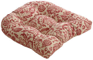 Fairhaven Red Wicker Seat Cushion