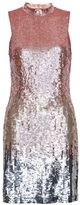 French Connection Starlight Sequins Mock Neck Mini Dress