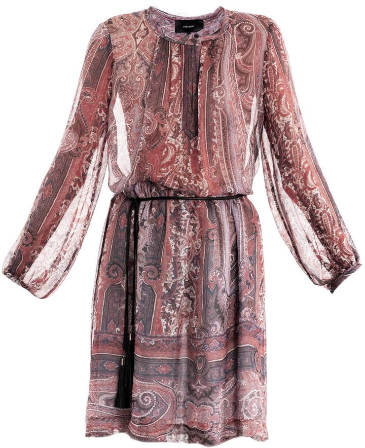 Isabel Marant Sofia paisley-print dress