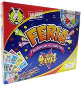 University Games Feria - Four Games In One by