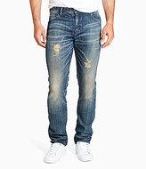 William Rast Dean Slim-Fit Straight-Leg Stretch Denim Jeans