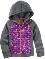Osh Kosh Heart-Print Active Hoodie