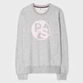 Paul Smith Women's Grey Marl 'PS Logo' Sweatshirt