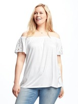 Old Navy Off-the-Shoulder Plus-Size Swing Top