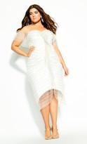 City Chic Jewel Dream Dress - ivory