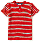 Lucky Brand Little Boys 2T-7 Offshore Striped Short-Sleeve Henley Tee