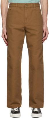 Carhartt Work In Progress Brown Single Knee Trousers