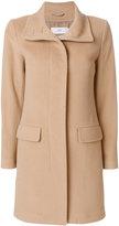 Closed single breasted coat