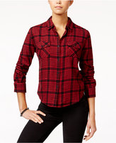 Volcom Juniors' Lodge Life Plaid Shirt