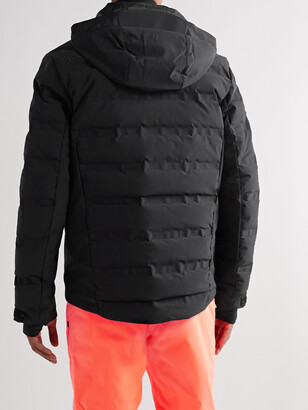 Aztech Mountain Nuke Suit Quilted Hooded Down Ski Jacket