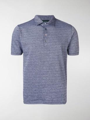 Zanone Short-Sleeved Polo Shirt
