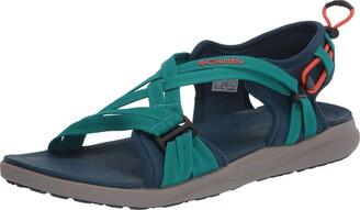 Columbia Women's Sandal Blue (Petrol Blue Zing 403) 4 UK