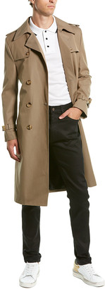 Celine Wool-Blend Trench Coat