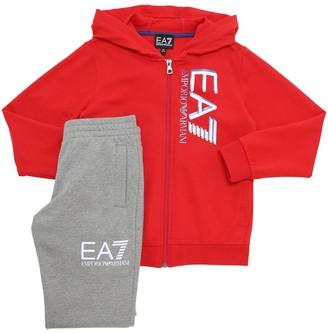 Ea7 Emporio Armani Cotton Sweatshirt & Sweatpants