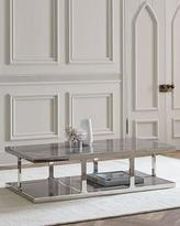 Interlude Home POLLY MARBLE COFFEE TABLE