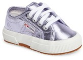 Superga Toddler Girl's Metallic Sneaker