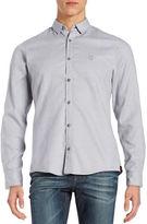 Strellson Dotted Cotton Sportshirt