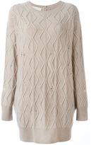 Stella McCartney distressed knit dress
