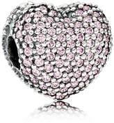 Pandora Pink Pave Open My Heart Charm