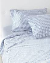 Serena & Lily Navy Cut Circle Sheet Set