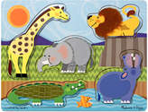 Melissa & Doug Kids Toy, Zoo Animals Touch and Feel Puzzle