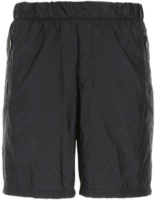 Givenchy All Over Logo Print Bermuda Shorts