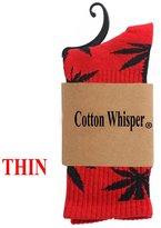 Cotton Whisper Vintage Style Cotton Crew Socks Multi-colors 3 Pcs