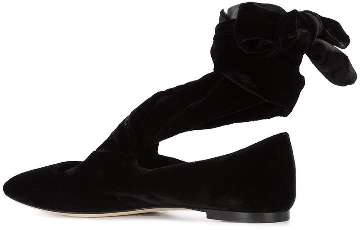 The Row Elodie ballerina shoes