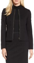 BOSS Women's Kanelli Jacquard Jacket