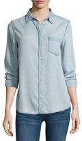 DL1961 Premium Denim Mercer & Spring Chambray Shirt, Bleach