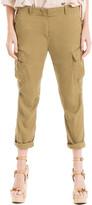 Max Studio Tencel Cargo Trousers