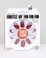 Elegant Touch House of Holland x Santa Coffin False Nails - Santa Claws